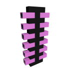 Shoe Rack Shoe Tree Set T Black-Pink for your 3d room design