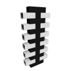 Shoe Tree T Black Shoe Rack by Fashion For Home