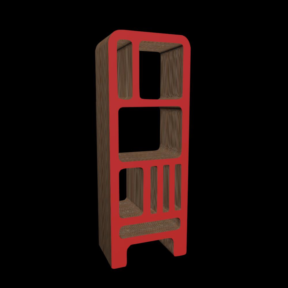 dickens cardboard bookshelf design and decorate your. Black Bedroom Furniture Sets. Home Design Ideas