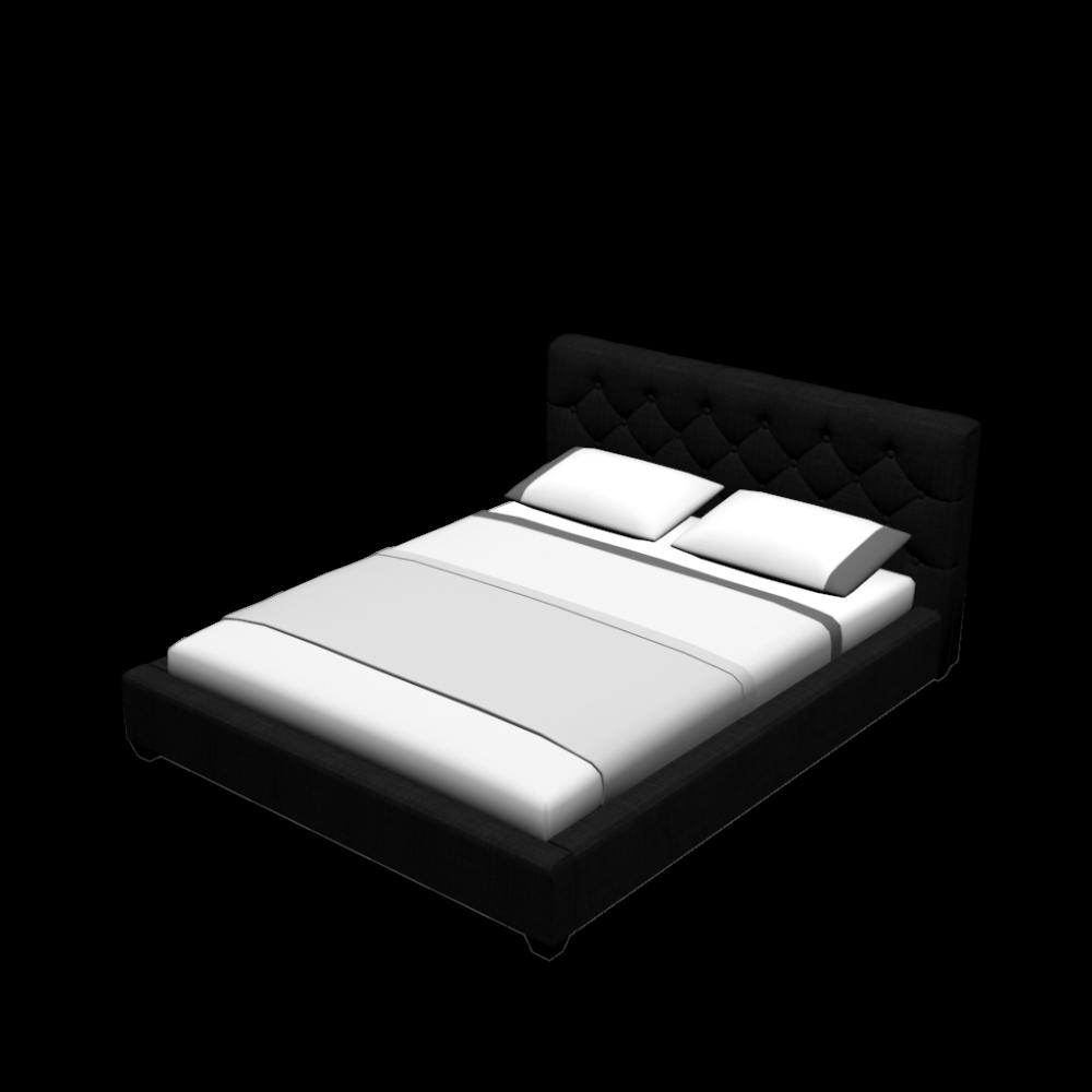 bett grand anthrazit premium 160x200 cm einrichten. Black Bedroom Furniture Sets. Home Design Ideas
