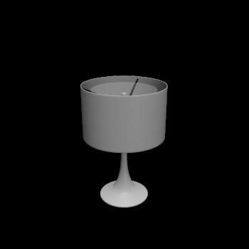Spun Light T1 glänzend weiß von Flos