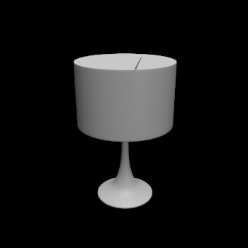 Spun Light T2 glänzend weiß von Flos