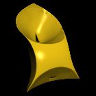 Flux Chair für die 3D Raumplanung
