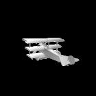 Fokker DR.I für die 3D Raumplanung