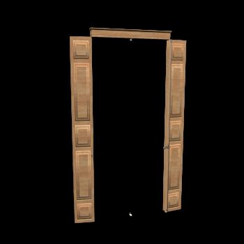 Französisch Tür innen