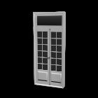 Französisch Tür für die 3D Raumplanung