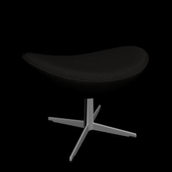 The Egg  foot stool by Fritz Hansen