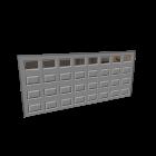 Garagentor für die 3D Raumplanung