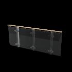 Geländer für die 3D Raumplanung