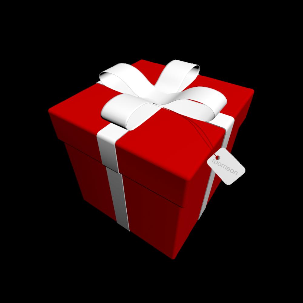 geschenk in klarsichtfolie einpacken