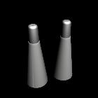 Gewürzstreuer für die 3D Raumplanung