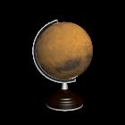 Globus Mars für die 3D Raumplanung