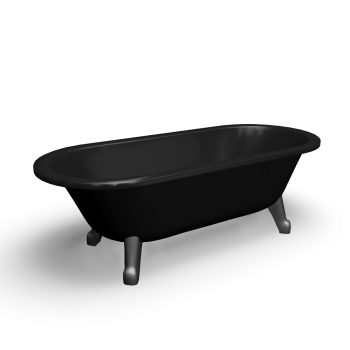 Bathtub freestanding 6368 by Gustavsberg