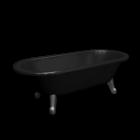 Bathtub freestanding 6368 by Gustavsberg