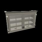 Hängeschrank Landhaus Küche für die 3D Raumplanung
