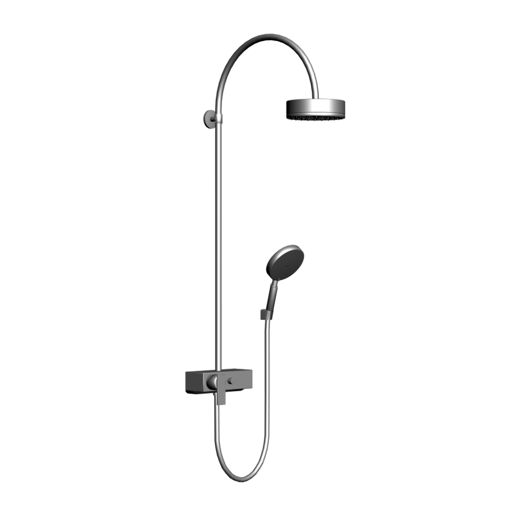 Axor Citterio Showerpipe DN15 - Design and Decorate Your Room in 3D