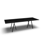 Loop Stand table, 250, black by HAY
