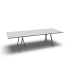 Loop Stand table, 250, white by HAY