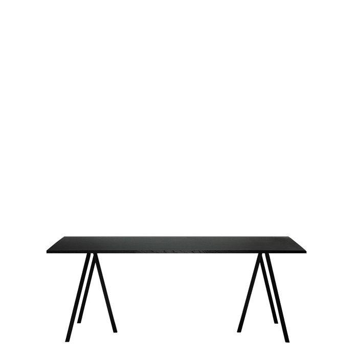loop stand tisch 180 schwarz test einrichten planen. Black Bedroom Furniture Sets. Home Design Ideas