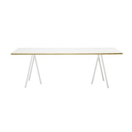 loop stand tisch 160 wei einrichten planen in 3d. Black Bedroom Furniture Sets. Home Design Ideas
