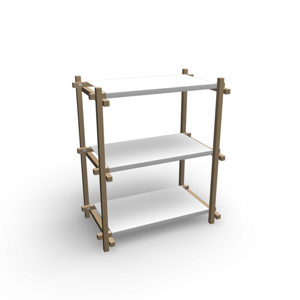 woody column low white design and decorate your room in 3d. Black Bedroom Furniture Sets. Home Design Ideas