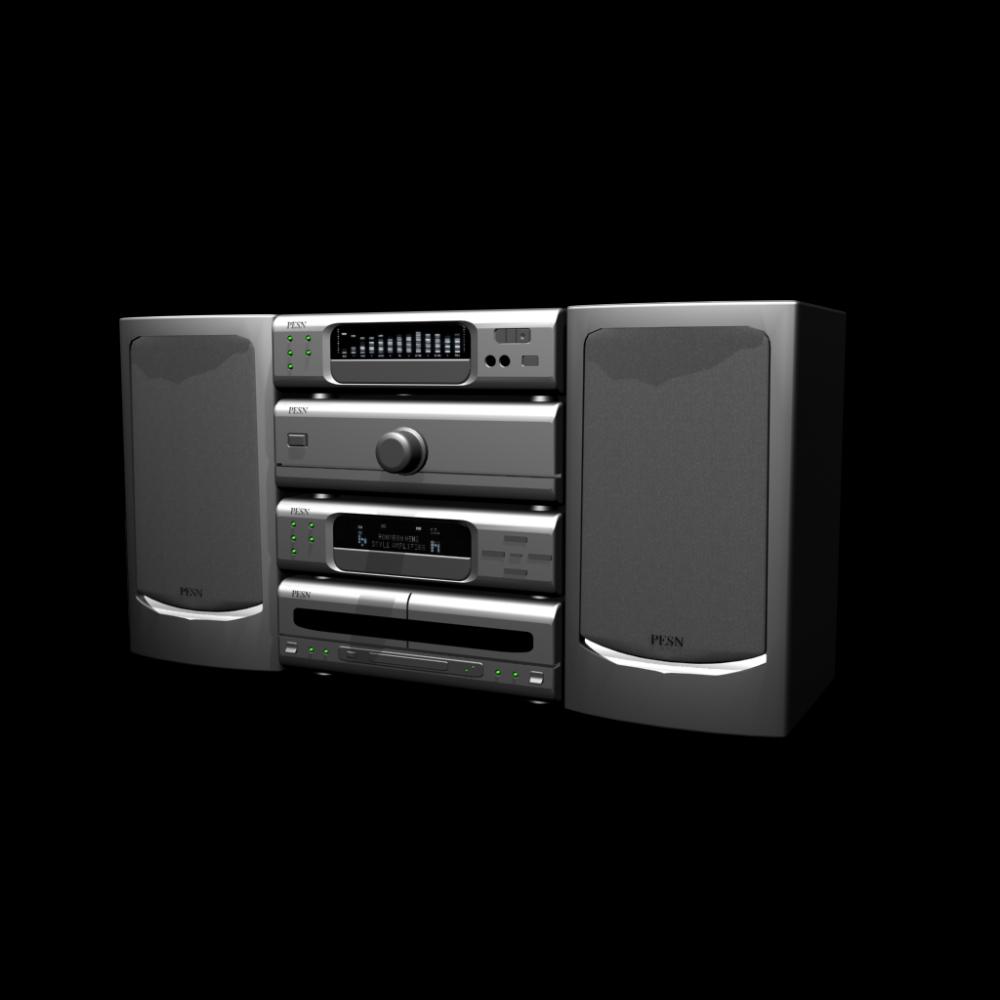 hifi anlage einrichten planen in 3d. Black Bedroom Furniture Sets. Home Design Ideas