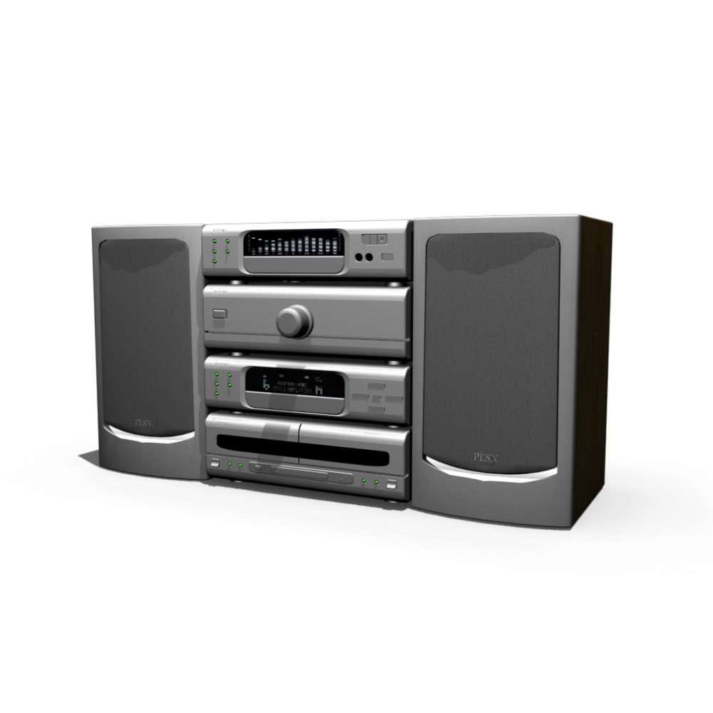 Hifi system - Design and Decorate Your Room in 3D