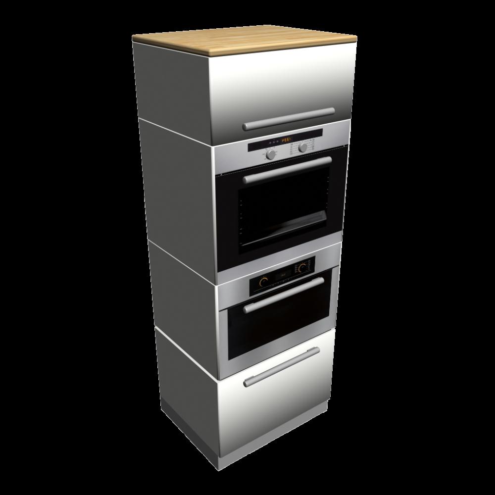 hochschrank mit ger ten einrichten planen in 3d. Black Bedroom Furniture Sets. Home Design Ideas