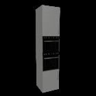 Hochschrankmodul mit Einbauherd für die 3D Raumplanung