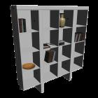 Holzregal für die 3D Raumplanung
