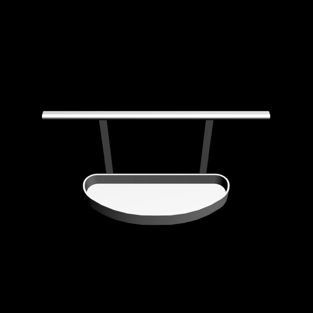 asker aufhängeschiene + fach für schiene - einrichten & planen in 3d