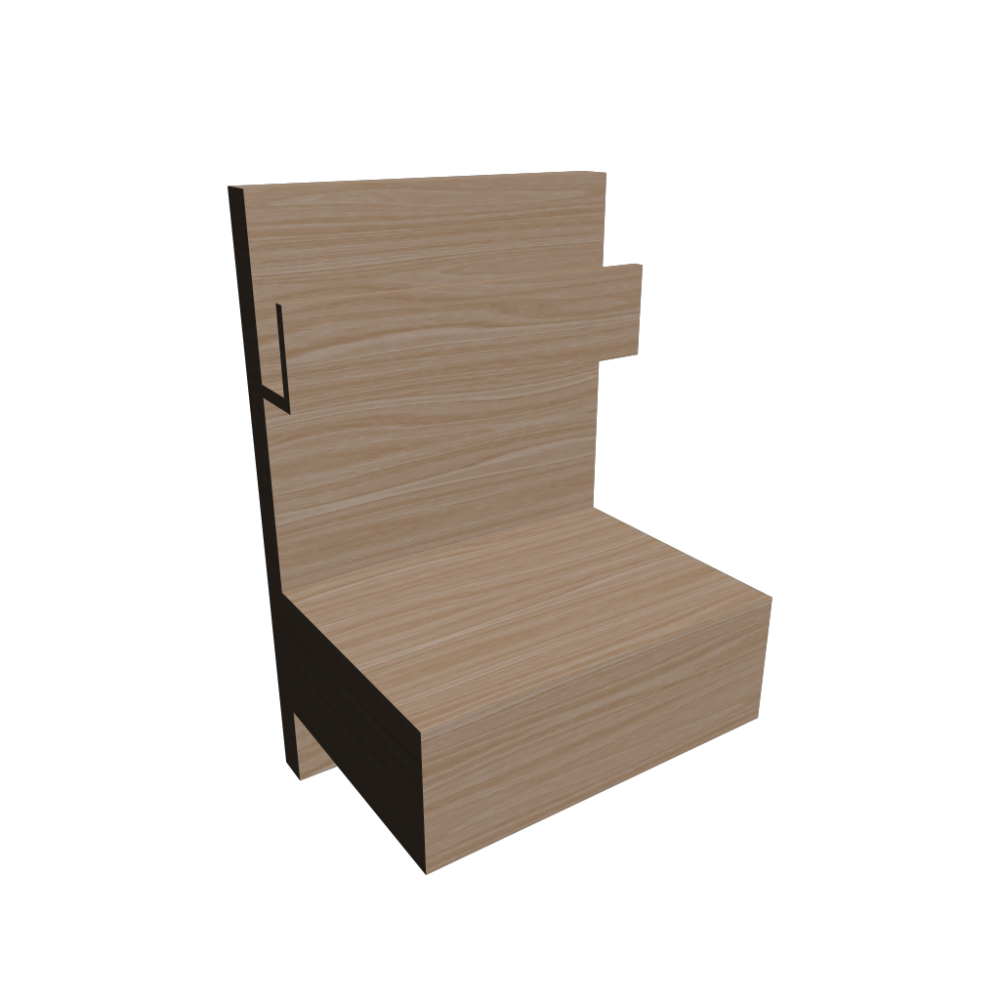 bedside table - design and decorate your room in 3d