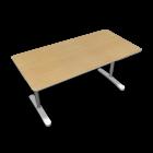 BEKANT Tischplatte 160 x 80 + Untergestell, Birkenfurnier von IKEA