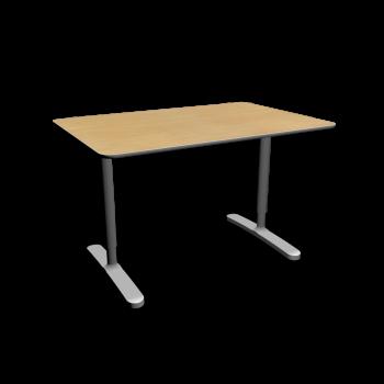 bekant tischplatte 120 x 80 untergestell birkenfurnier einrichten planen in 3d. Black Bedroom Furniture Sets. Home Design Ideas
