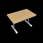 BEKANT Tischplatte 120 x 80 + Untergestell, Birkenfurnier von IKEA