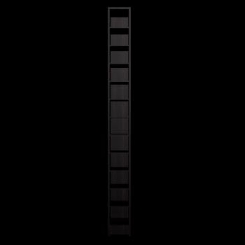 BENNO CD-/DVD-Turm, schwarzbraun von IKEA