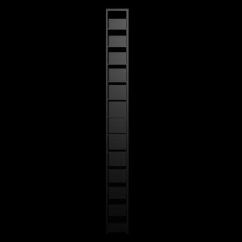 BENNO CD-/DVD-Turm, schwarz von IKEA