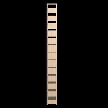 BENNO CD-/DVD-Turm, Birkenfurnier von IKEA
