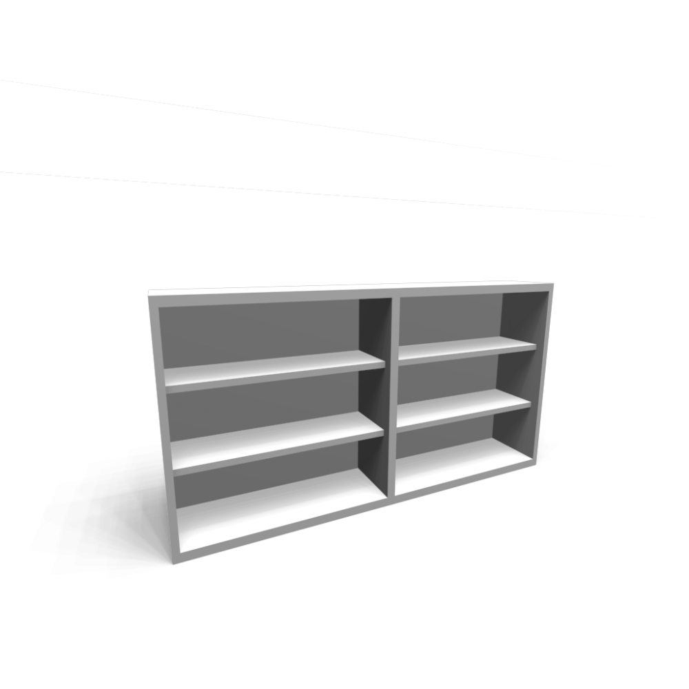 bestÅ shelf unit, height extension unit, white - design and decorate