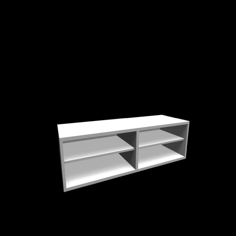 best regal aufsatzregal wei einrichten planen in 3d. Black Bedroom Furniture Sets. Home Design Ideas