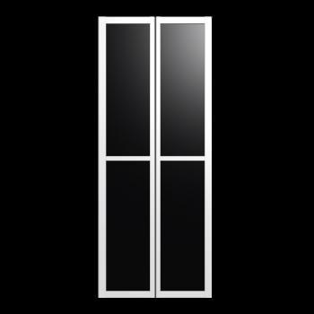 BILLY OLSBO Vitrinentür weiß 2x von IKEA