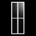 BILLY OLSBO Vitrinentür weiß 2x für die 3D Raumplanung