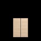BILLY OLSBO Tür  Birkenfurnier 2x für die 3D Raumplanung
