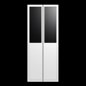 BILLY OLSBO Paneel-/Vitrinentür, weiß 2x von IKEA