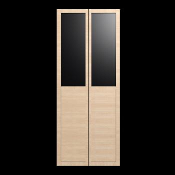 BILLY OLSBO Paneel-/Vitrinentür Birkenfurnier 2x von IKEA