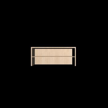 BILLY Aufsatzregal, Birkenfurnier von IKEA