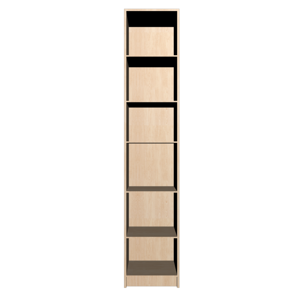 Billy Bookcase Birch Veneer Design And Decorate Your Room In 3d