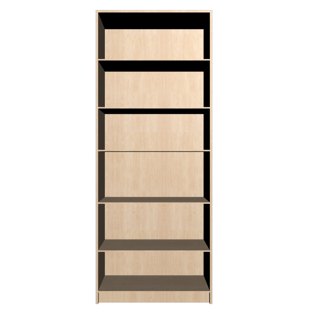 BILLY Bookcase, birch veneer - Design and Decorate Your Room in 3D