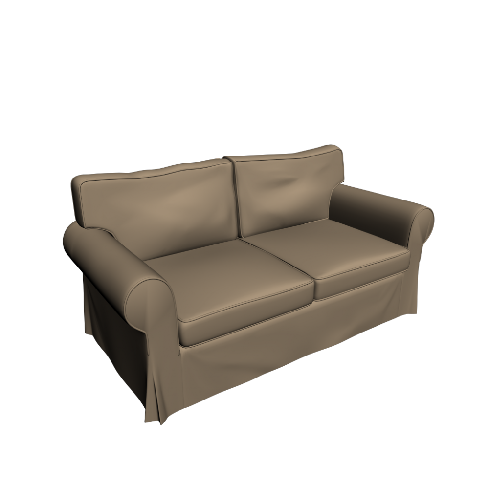 ektorp 2er sofa einrichten planen in 3d. Black Bedroom Furniture Sets. Home Design Ideas