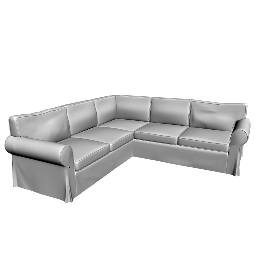 ektorp ecksofa 2 2 einrichten planen in 3d. Black Bedroom Furniture Sets. Home Design Ideas
